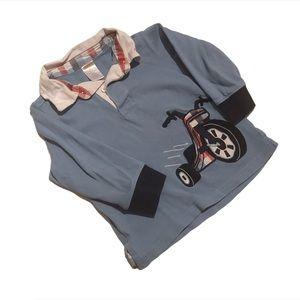 🧚♀️4/$25 GYMBOREE Boys 2T Rugby Shirt